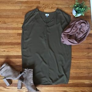✨NEW✨ Army Green Shift Dress